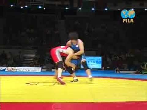 Mami Shinkai (JPN) VS Martine Dugrenier (CAN) 2008 WC Finals 67kg
