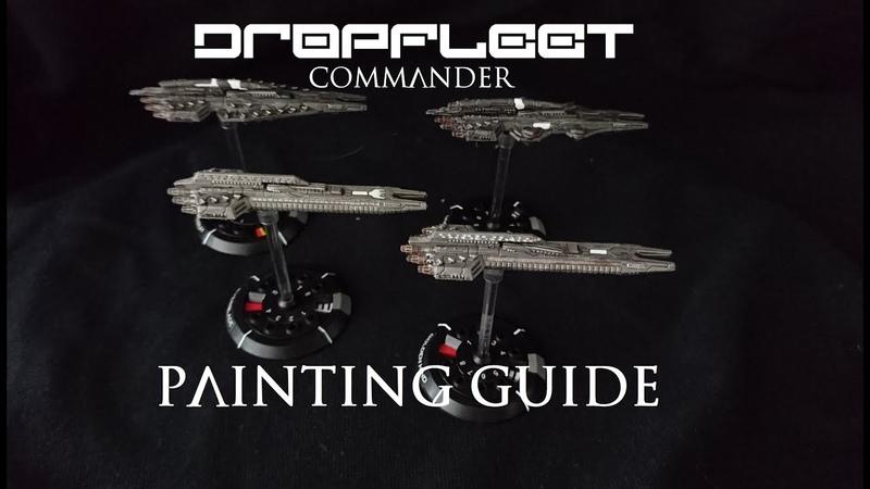 Dropfleet Commander Painting Series Episode 1 UCM Frigates