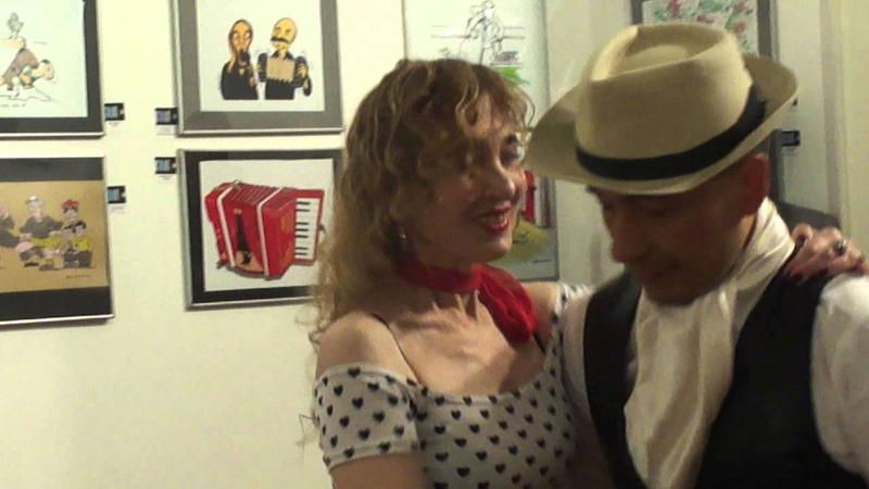 Quique Camargo y Mirta Milone,Tango Canyengue, en el XX Salon Diogenes Taborda 2015