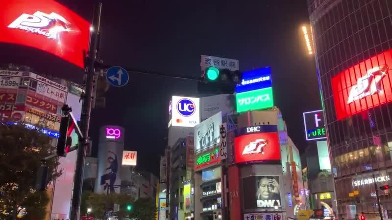 令和元年10月31日午前0時、 渋谷の街は『ペルソナ5 ザ・ロイヤル』怪盗団が頂戴した