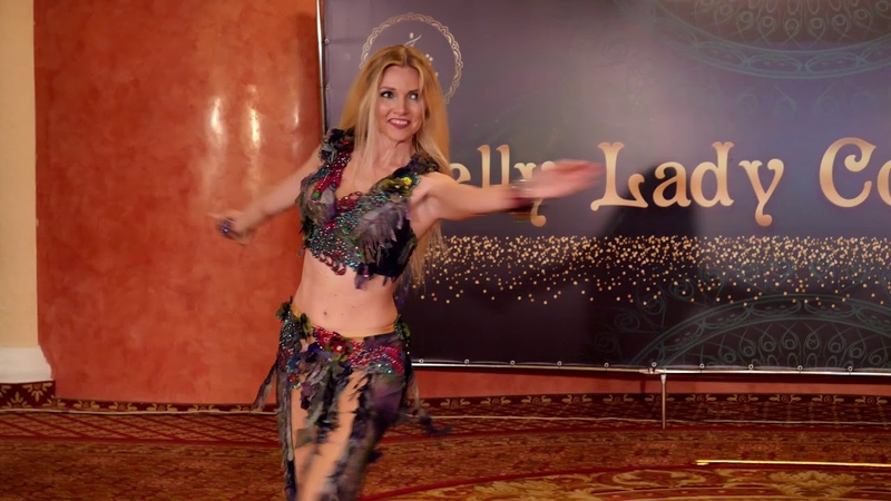 Daria Gal Danilkina Professional Belly Dancer on BLConference 2019 Lialy Belly Dance Cairo