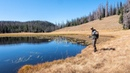 Remote Mountain Lake Fishing | Backpacking with Fly Rod