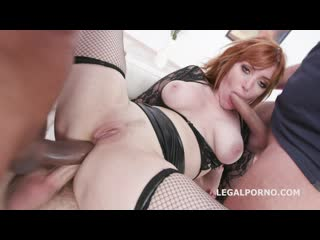 Legal Porno - Manhandle, Lauren Phillips gets 4on1 rough sex with Balls Deep Anal, DAP, Gapes and Swallow
