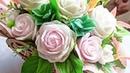 собираю букет из мыла на заказ, букет в деревянном кашпо сердце . розы из мыла, soap