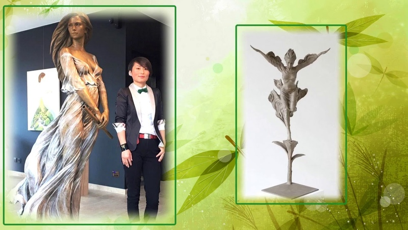 Удивительно реалистичные скульптуры из бронзы Скульптор китаянка Лу Ли Рон Luo Li Rong