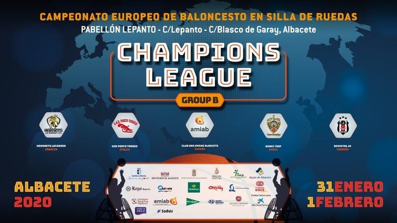 BSR Amiab Albacete vs BasKI TSOP Champions League 2020