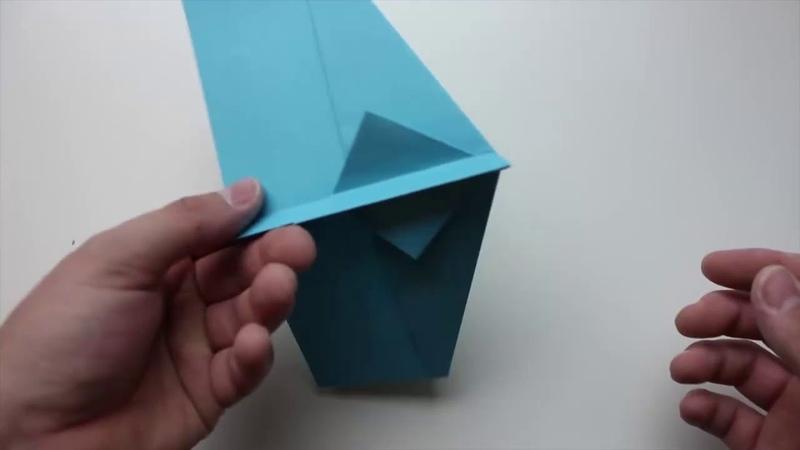 Бионический бумажный самолет