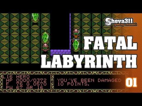 Fatal Labyrinth прохождение 1 | ГРААЛЬ, ДРАКОН И ДРАКОНИЯ!