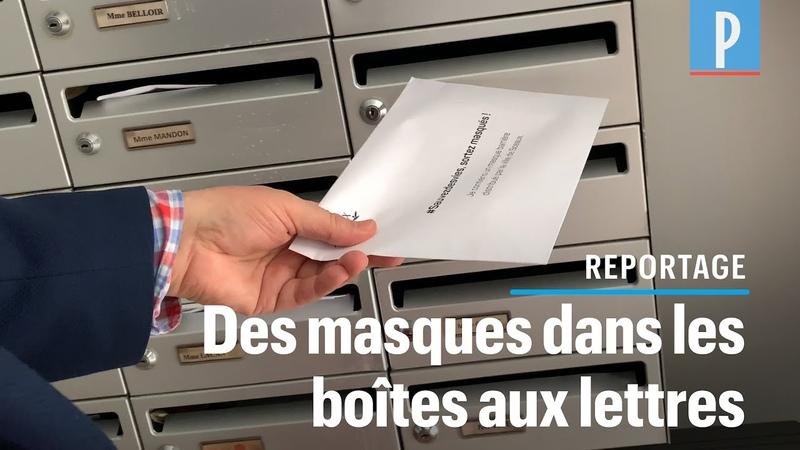 A Sceaux, le maire distribue des masques dans les boîtes aux lettres