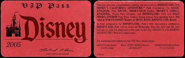 Самым первым обычным посетителем парка развлечений «Disneyland», открывшегося в июле 1955 года в городе Анахайм (штат Калифорния , стал Дейв Макферсон, 22-летний студент, занявший очередь в