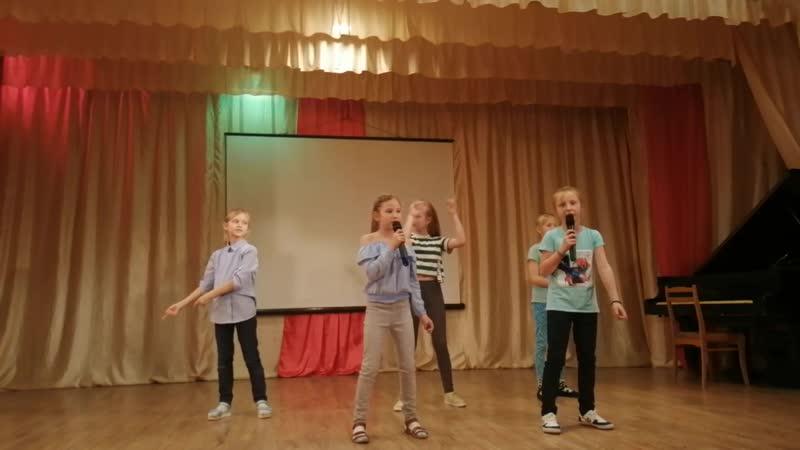 4 отряд.Песня Зеленый человек. Алло, мы ищем таланты!