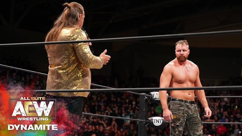 AEW DYNAMITE EPISODE 11 JERICHO INVITES MOX TO JOIN THE INNER CIRCLE