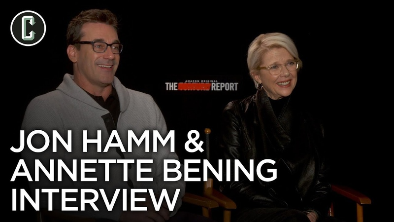 The Report Jon Hamm Annette Bening Interview