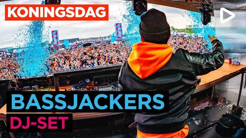 Bassjackers SLAM Koningsdag 2019