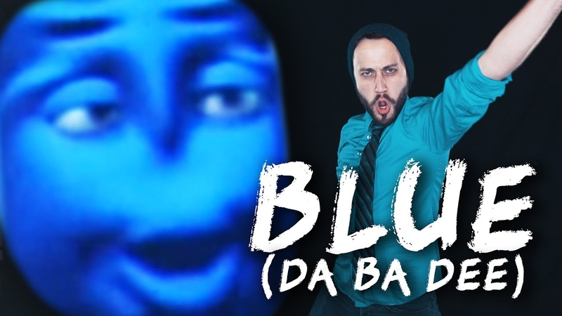 BLUE DA BA DEE Eiffel 65 Metal cover version by Jonathan Young ToxicXEternity