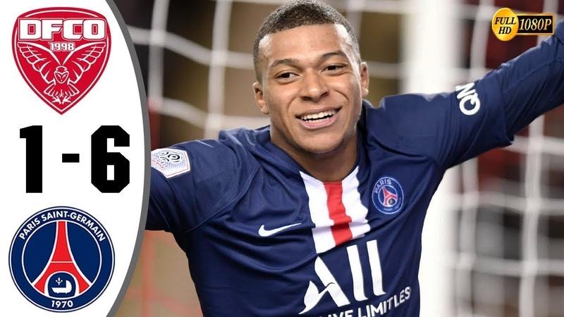 Dijon vs PSG 1-6 - All Goals Extended Highlights 2020