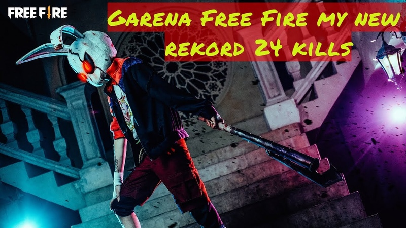 Garena Free Fire my new rekord 24 kills