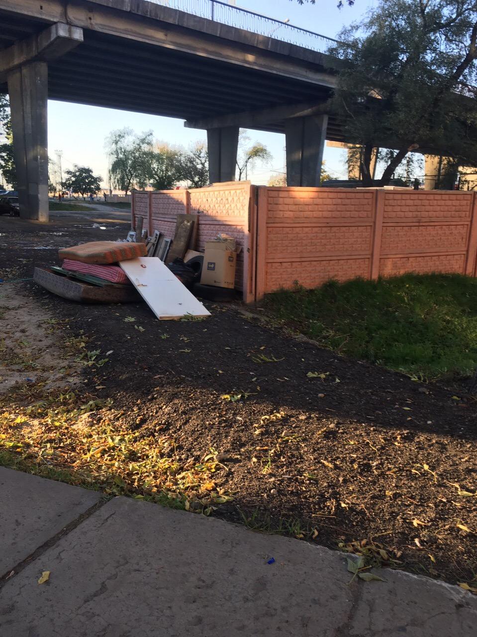 Жители ул. Скрипникова просят помочь им навести порядок на стихийной свалке во дворе