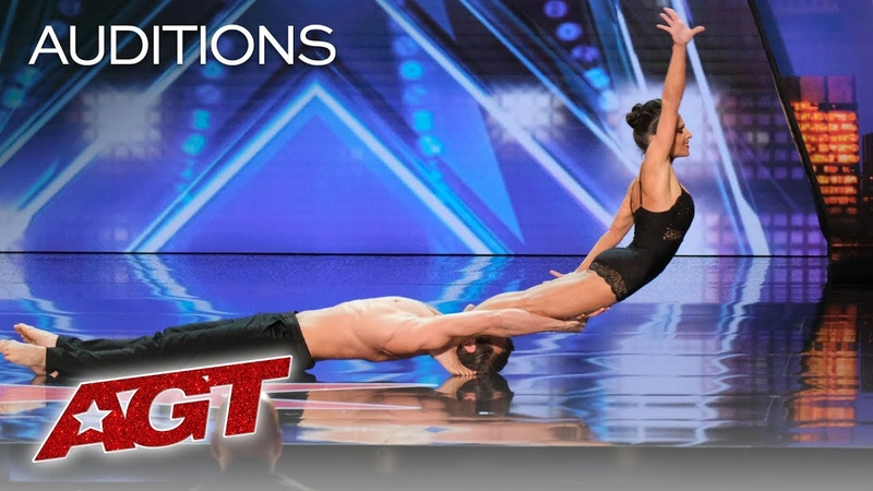 AGT's SEXIEST Audition Acrobatic Dance Duo Excites The AGT Judges America's Got Talent 2019