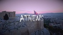 Athens Magical City of Gods drone views