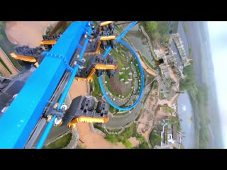 - droneadventures Hitching a ride on a rollercoaster sassyfpv