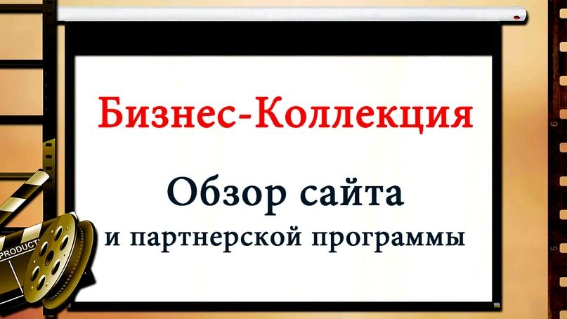 Обзор Бизнес-Коллекции. Продвижение и заработок в интернете, изображение №1