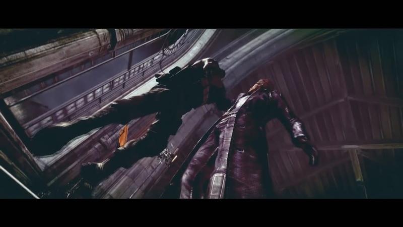 Albert Wesker vs Chris And Jill Action Scene Альберт Вескер против Криса и Джилл