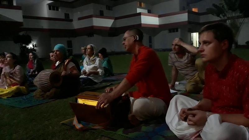 19.10.2019, Курукшетра, Вечерняя встреча, Дамодараштака, Кришна Мишра дас