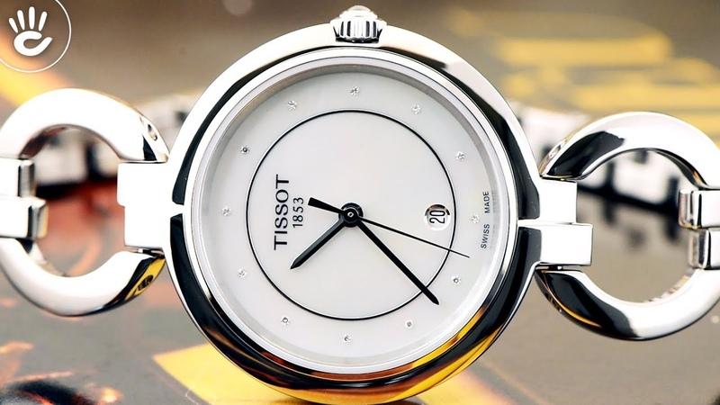 Review đồng hồ Tissot T094 210 11 116 00 kiểu dáng sang trọng với tạo hình lắc tay dành cho phái đẹp