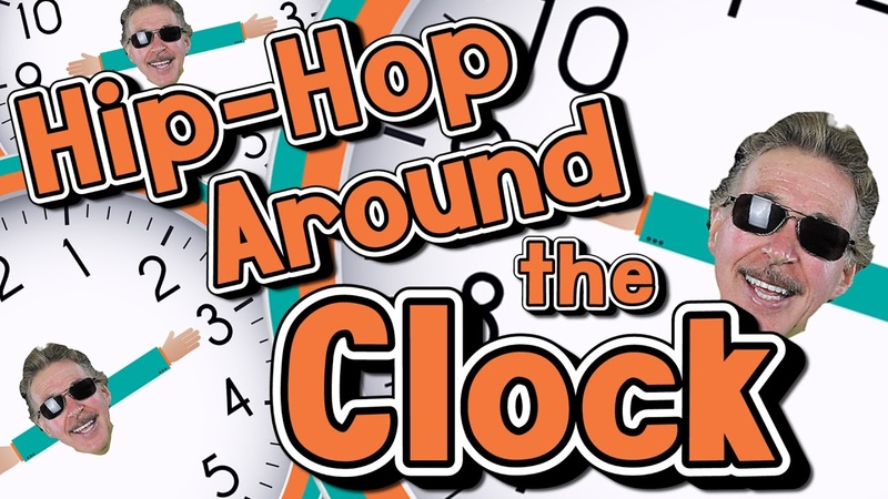 Hip Hop Around the Clock Learn How to Tell Time Jack Hartmann