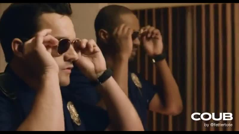 One is black the other white, so let`s be cops it`ll be alright