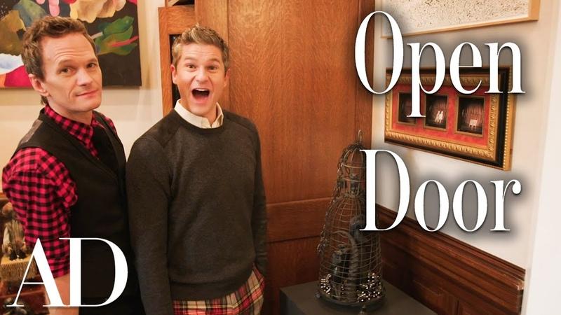 Inside Neil Patrick Harris's Brownstone Holiday Home   Open Door