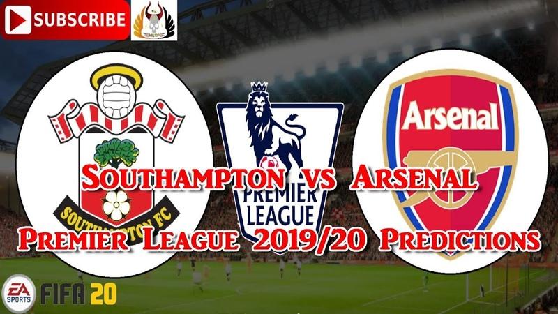 Southampton vs Arsenal 2019 20 Premier League Predictions FIFA 20
