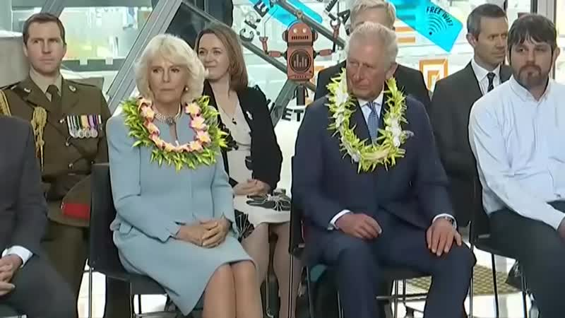 Prince Charles and Camilla Enjoy Traditional Maori Dance in New Zealand