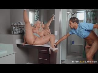 Alura TNT Jenson - Draining The Plumbers Cock [BBW, Bald Pussy, Big Ass, Big Tits, Blonde, Blowjob (POV), Caucasian, Cheating]