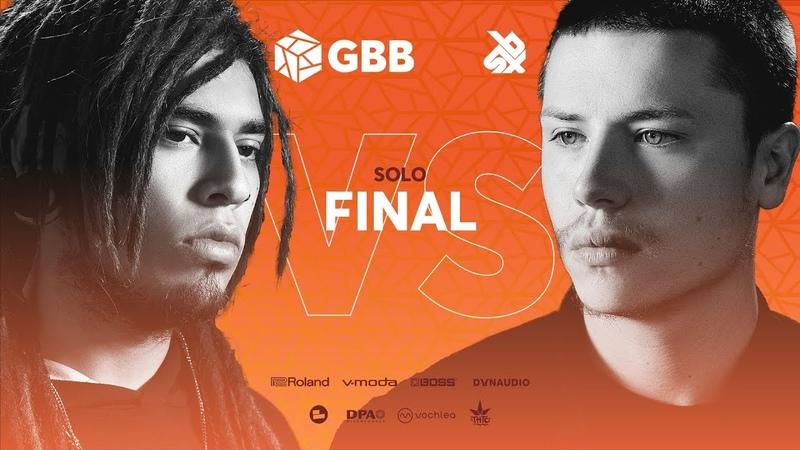TOMAZACRE vs D-LOW | Grand Beatbox Battle 2019 | FINAL