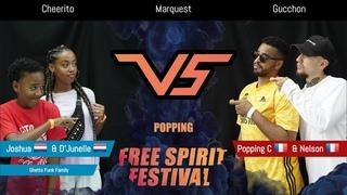 Free Spirit Festival 2019 Championship//Joshua DJunelle vs Popping C Nelson //Popping - Final Danceproject.info