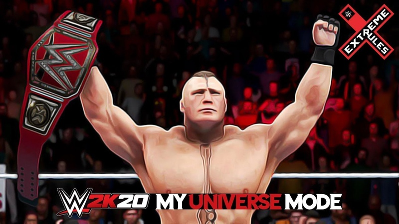 WWE 2K20 Universe Mode Episode 12 EXTREME RULES