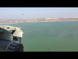 Вид на Сирию из кабины вертолета Ми-8АМТШ ВКС РФ
