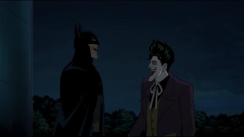 The Joker Makes Batman Laugh - Batman The Killing Joke