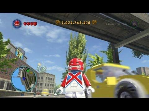 LEGO Marvel Super Heroes - Unlocking Captain Britain Gameplay (All Captain Britain Missions)