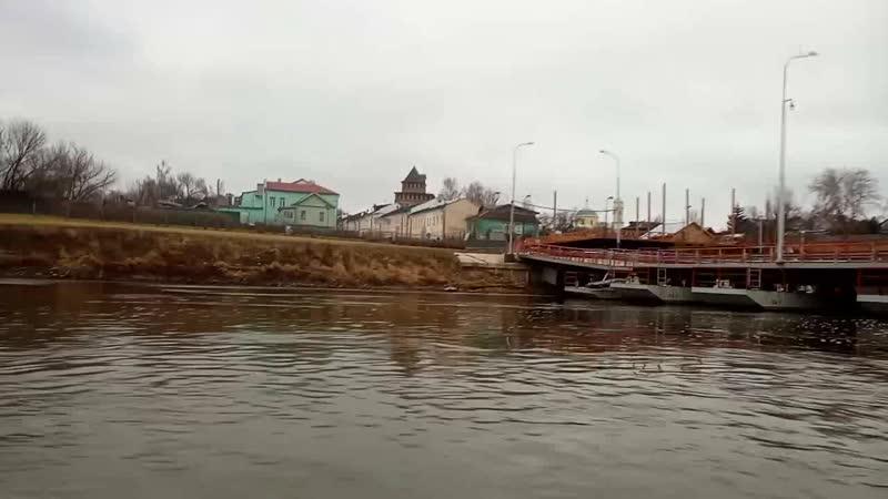 Михалево Коломна до Оки и обратно
