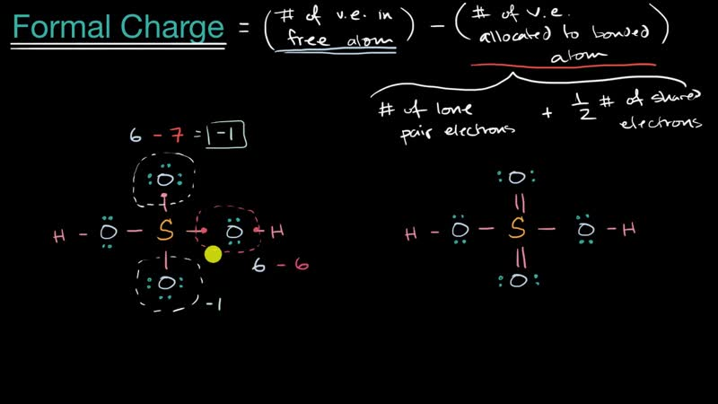 2019 Introduction to formal charge - Sulphur -Khan Academy