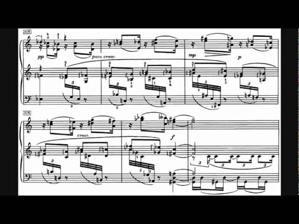 Sokolov plays Scriabin - Black Mass Sonata: Piano Sonata No. 9, Op. 68 (1912-13)