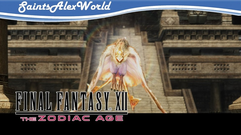 Final Fantasy XII The Zodiac Age [PС] Прохождение с переводом 12 - Пески Нам Енса. Босс Гаруда.