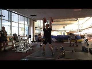Online World Cup of kettlebell sport Sergey Stepanov Jerk kettlebells 32 kg 5 min Kettlebell fights