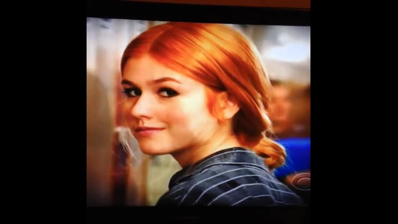 Such a pleasure playing teenage Carrie Wells on Unforgettable therealpoppymontgomery So lovely working with you xox