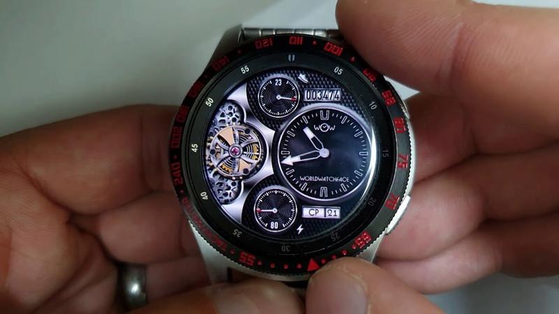 KING ANIMATED WW27 Multilang watchface for Samsung Gear Samsung Galaxy watch