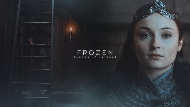 Sansa tyrion    frozen [AU]