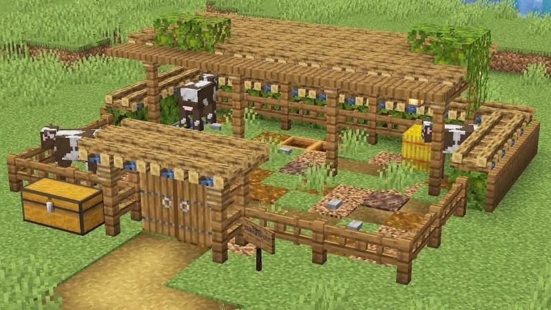Как в майнкрафте делать ферму